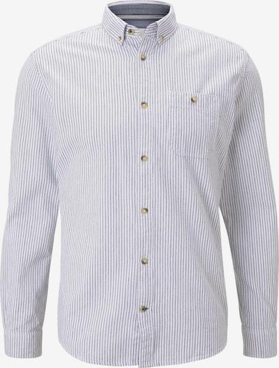 TOM TAILOR Overhemd in de kleur Blauw / Wit, Productweergave