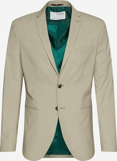 SELECTED HOMME Business blazer 'SLHSLIM-MAZELOGAN SAND STRUC BLZ B NOOS' in light grey, Item view