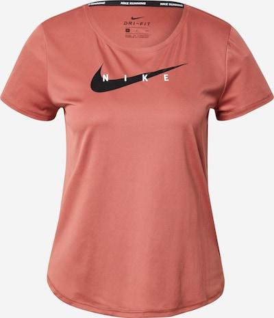 NIKE Sporta krekls rožains / melns / balts, Preces skats