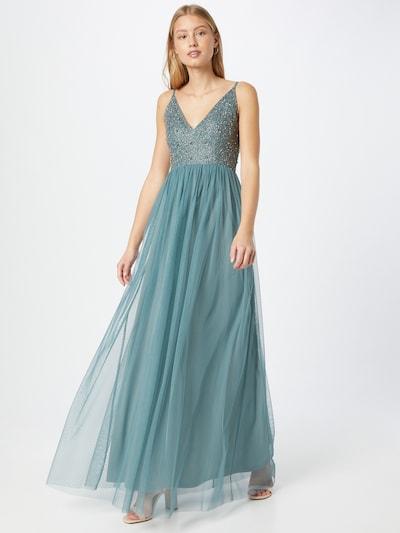 LACE & BEADS Kleid 'Mollie' in dunkelgrau / petrol, Modelansicht