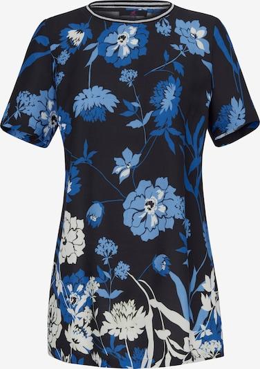 Emilia Lay Longbluse 1/2-Arm in blau / mischfarben / schwarz, Produktansicht