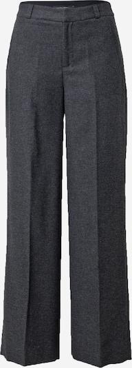 Banana Republic Панталон с ръб в сив меланж / черен меланж, Преглед на продукта