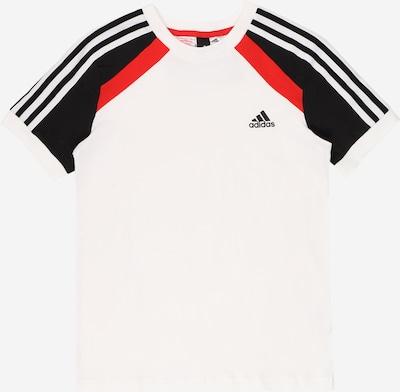 ADIDAS PERFORMANCE Sportshirt 'BOLD' in rot / schwarz / weiß, Produktansicht