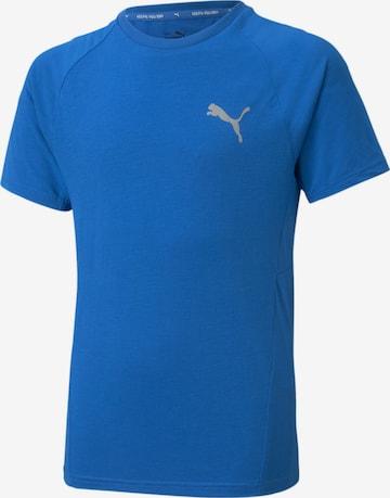 T-Shirt fonctionnel PUMA en bleu