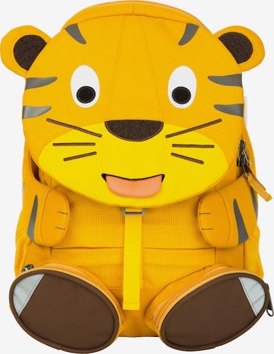Affenzahn Rugzak 'Großer Freund Tiger' in de kleur Bruin / Geel / Grijs, Productweergave