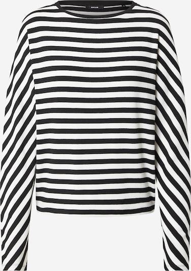 Maglietta 'Sevun' OPUS di colore nero / bianco, Visualizzazione prodotti