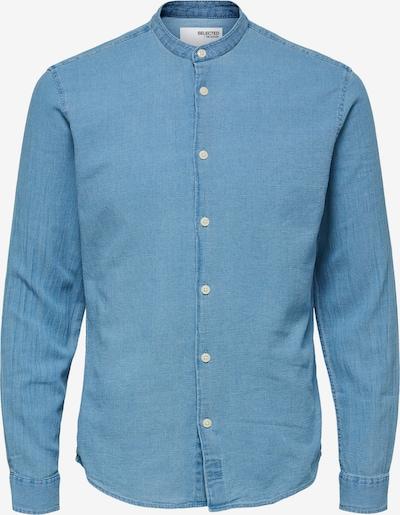 SELECTED HOMME Chemise en bleu denim, Vue avec produit