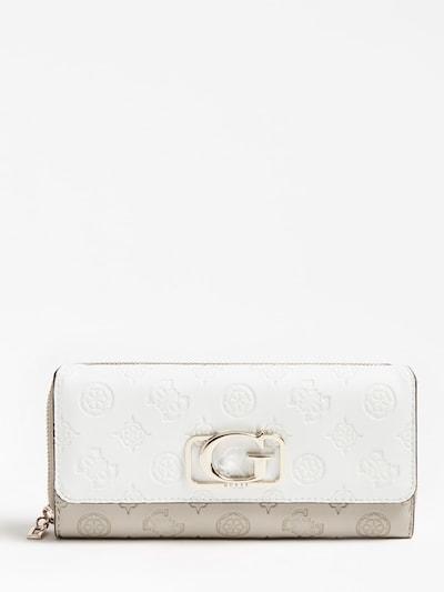 GUESS Portemonnaie in weiß, Produktansicht