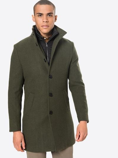 Bruun & Stengade Overgangsfrakke 'Ontario' i mørkegrøn, Modelvisning
