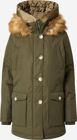 Schott NYC Winter Jacket 'SYLVANIE' in Olive, Item view