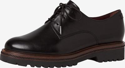 Pantofi cu șireturi TAMARIS pe negru, Vizualizare produs