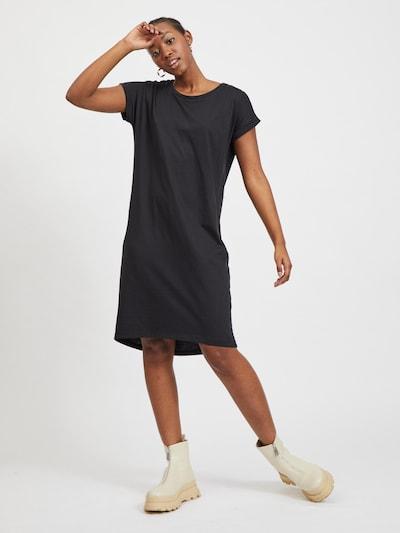 VILA Zomerjurk 'Dreamers' in de kleur Zwart, Modelweergave