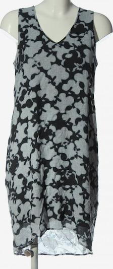 Marc O'Polo Vokuhila-Kleid in S in hellgrau / schwarz, Produktansicht