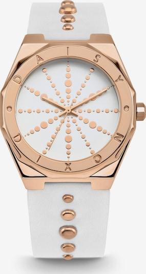 DAISY DIXON Uhr in gold / weiß, Produktansicht