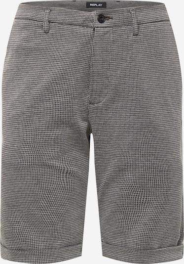 REPLAY Pantalon en gris / noir, Vue avec produit