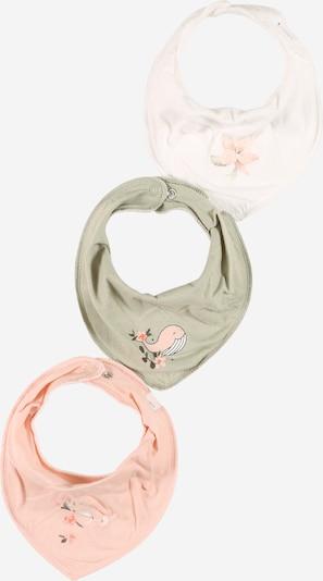 NAME IT Masque en tissu 'YVETTEFELINE' en kaki / mélange de couleurs / rose / blanc, Vue avec produit