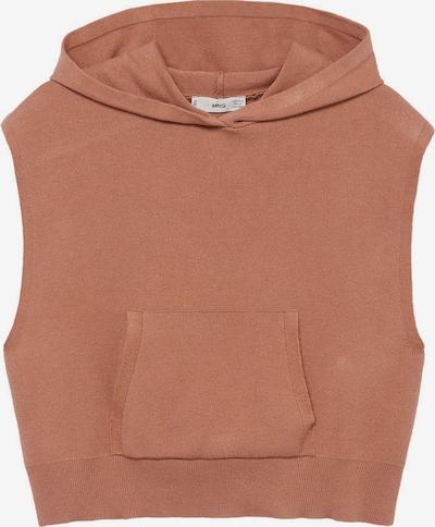 MANGO Sweter w kolorze jasnobrązowym, Podgląd produktu