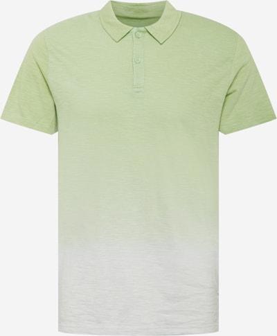 Tricou TOM TAILOR pe verde deschis / alb murdar, Vizualizare produs