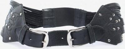 River Island Flechtgürtel in XS-XL in schwarz / silber, Produktansicht