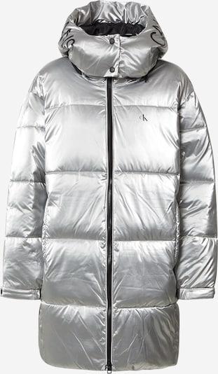 Calvin Klein Jeans Manteau d'hiver en noir / argent, Vue avec produit