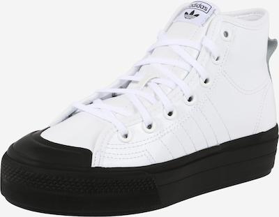 Sneaker înalt 'NIZZA' ADIDAS ORIGINALS pe negru / alb, Vizualizare produs