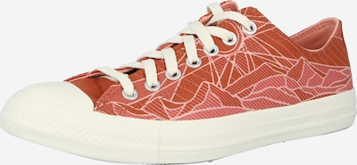 Sneaker low 'CHUCK TAYLOR ALL STAR SUMMER SUNRISE' CONVERSE pe roz vechi / roșu ruginiu / alb, Vizualizare produs