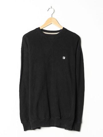FILA Sweatshirt in L-XL in Schwarz