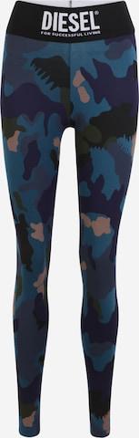 DIESEL Leggings 'FAUSTIN' in Blauw