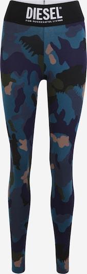 DIESEL Leggings 'FAUSTIN' in Blue / Pink / Black / White, Item view