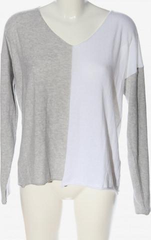 AUST V-Ausschnitt-Pullover in L in Grau
