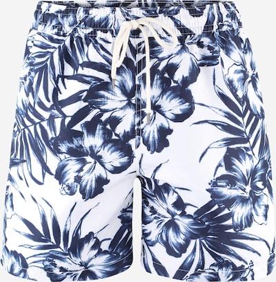 POLO RALPH LAUREN Kratke kopalne hlače 'TRAVELER' | nočno modra / bela barva: Frontalni pogled