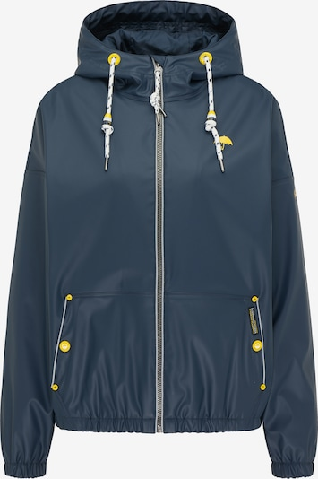 Schmuddelwedda Between-season jacket in marine blue / Yellow / White, Item view