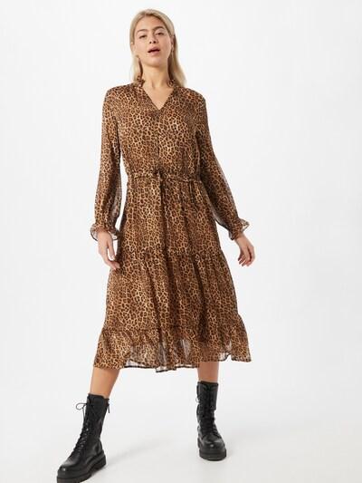 Love & Divine Kleid in beige / braun, Modelansicht