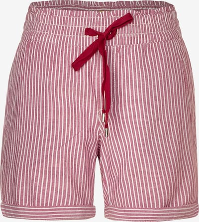 STREET ONE Shorts in rot, Produktansicht
