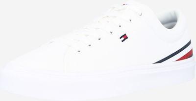 sötétkék / piros / fehér TOMMY HILFIGER Rövid szárú edzőcipők, Termék nézet