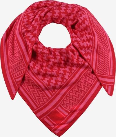 Zwillingsherz Masque en tissu 'Liv' en rose / rouge, Vue avec produit
