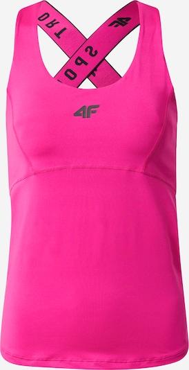 Sportiniai marškinėliai be rankovių iš 4F , spalva - rožinė / juoda, Prekių apžvalga