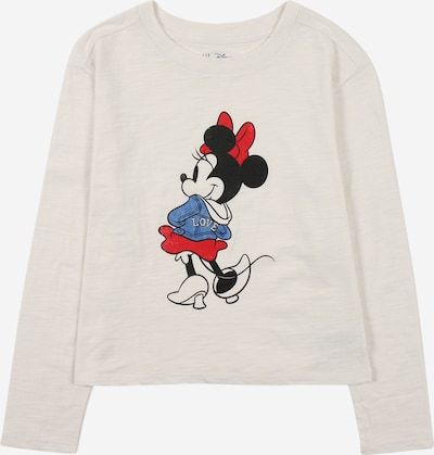 GAP Shirt in himmelblau / hellgrau / dunkelrot / schwarz, Produktansicht