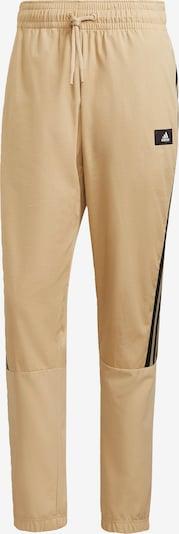 ADIDAS PERFORMANCE Sporthose in beige / schwarz / weiß, Produktansicht