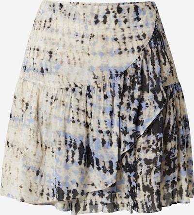 SECOND FEMALE Jupe 'Malo' en beige / bleu violet / noir, Vue avec produit