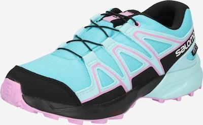 SALOMON Zapatos bajos 'SPEEDCROSS' en azul claro / rosa / negro, Vista del producto
