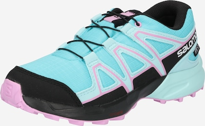 SALOMON Chaussures basses 'SPEEDCROSS' en bleu clair / rose / noir, Vue avec produit