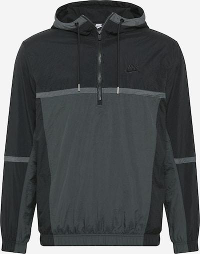Nike Sportswear Tussenjas in de kleur Grijs / Donkergrijs / Zwart, Productweergave