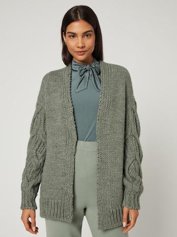 Guido Maria Kretschmer Collection Knit cardigan 'Megan' in Green