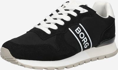 BJÖRN BORG Baskets basses en noir / blanc, Vue avec produit