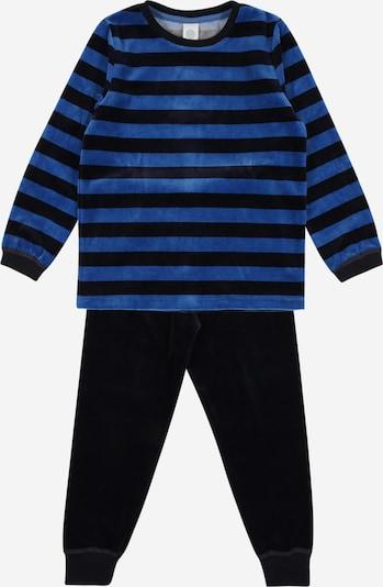 SANETTA Pyjama in blau / dunkelblau, Produktansicht