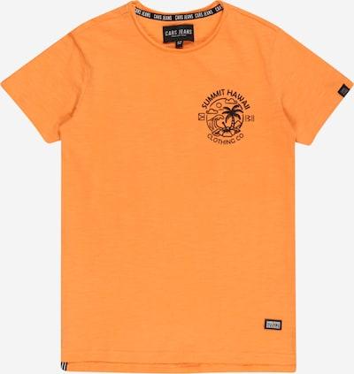 Cars Jeans Shirt 'ONTARIO' in orange / schwarz, Produktansicht