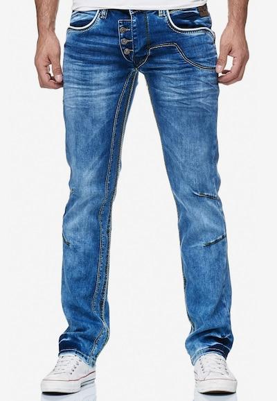Rusty Neal Jeans 'RUBEN 30' in blau, Modelansicht