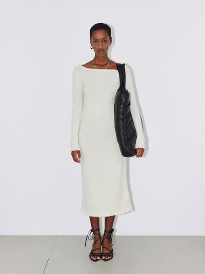 LeGer by Lena Gercke Gebreide jurk 'Fanny' in de kleur Offwhite, Modelweergave