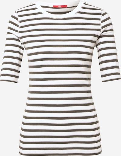 s.Oliver Shirt in beige / khaki, Produktansicht